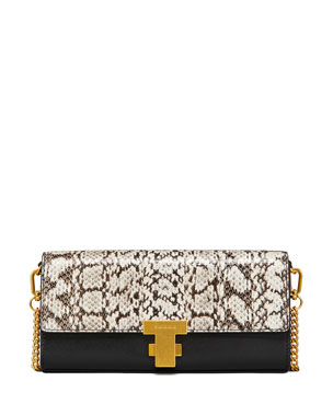 572f417050c6 Tory Burch Juliette Exotic Clutch Bag