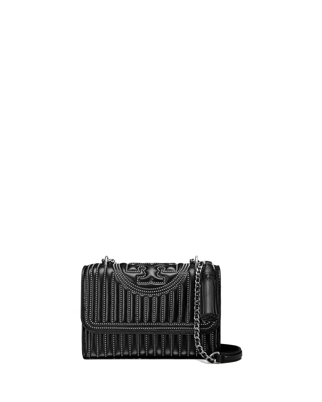 19f0328680b2 Tory Burch Fleming Small Convertible Mini-Stud Shoulder Bag