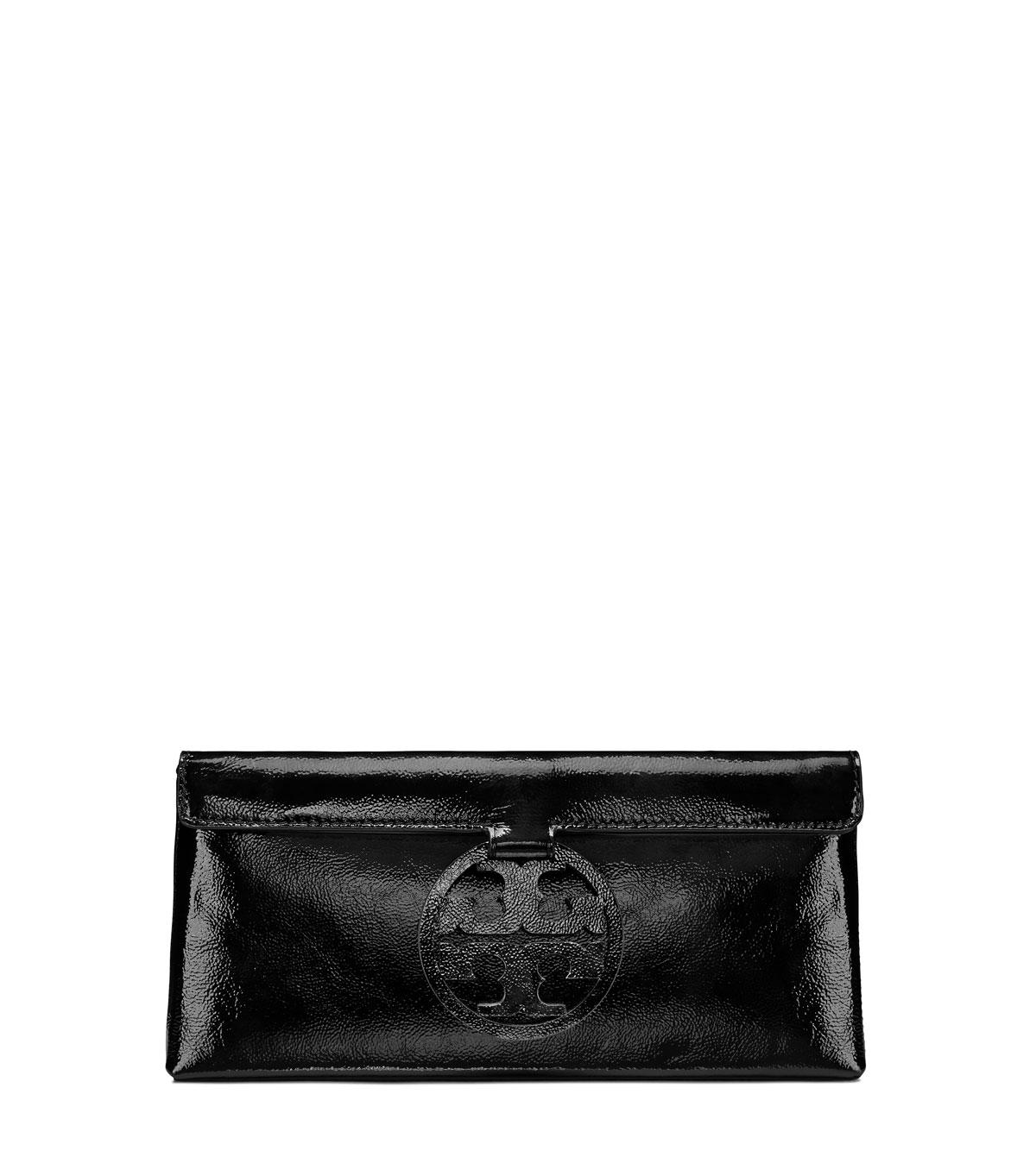 61cf0f5b155 Tory Burch Miller Patent Leather Clutch Bag