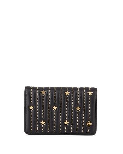 Fleming Medium Slim Star-Stud Wallet