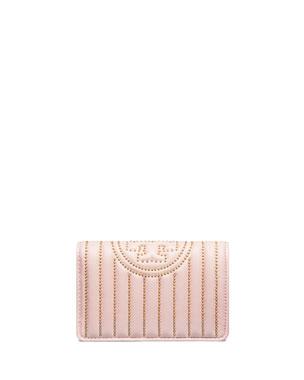 61878eafb102 Tory Burch Fleming Medium Slim Mini-Stud Wallet