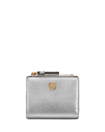 Robinson Mini Metallic Leather Wallet