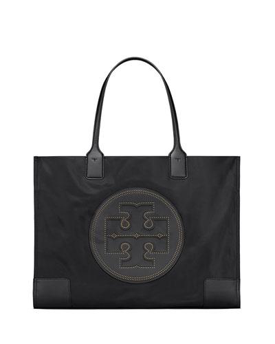 Ella Stud Nylon Tote Bag