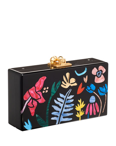 Jean Garden Delight Clutch Bag