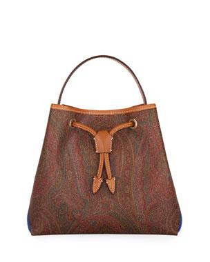 d8060d52f Etro Shopping Tribe Paisley Satchel Bag