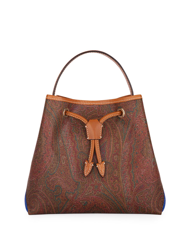 2b90f07d1a306 Etro Shopping Tribe Paisley Satchel Bag