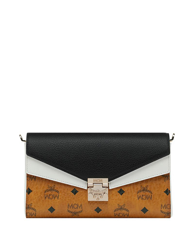 Millie Visetos Colorblock Crossbody Bag
