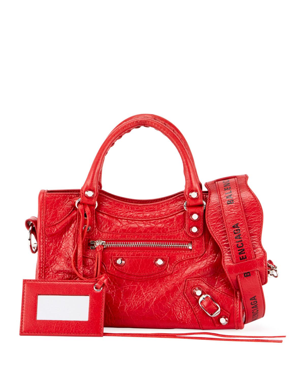 60f75e200704d BalenciagaClassic Mini City AJ Shoulder Bag