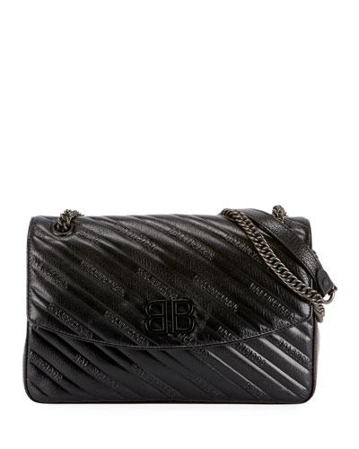 BB Medium Quilted Shoulder Bag
