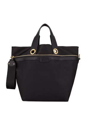 9706c0f2ba8 See by Chloe Judo Fabric and Leather Shoulder Bag