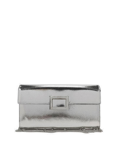 Viv Mirrored Envelope Clutch Bag