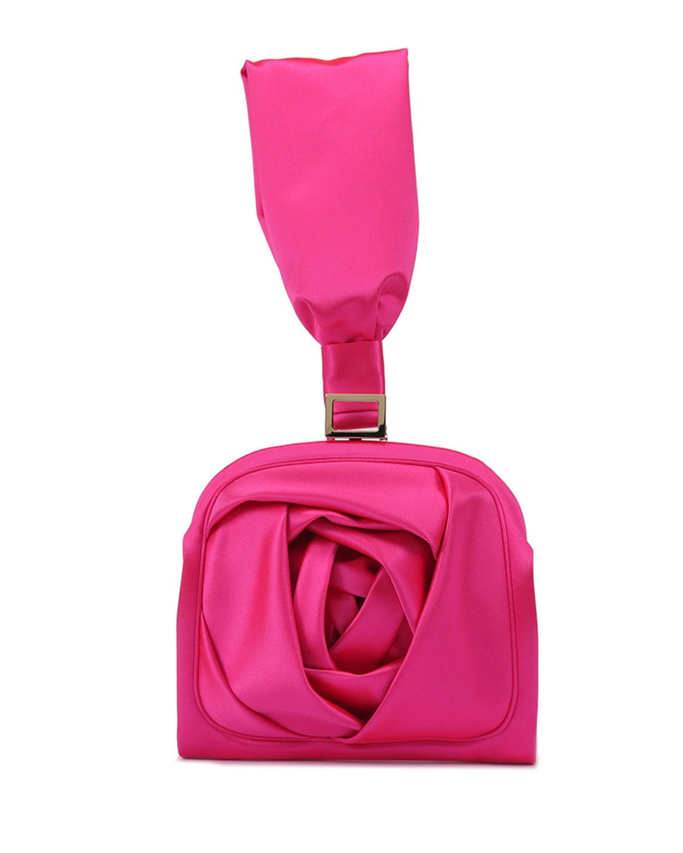 b084648151f7 Roger VivierRose Bracelet Clutch Bag