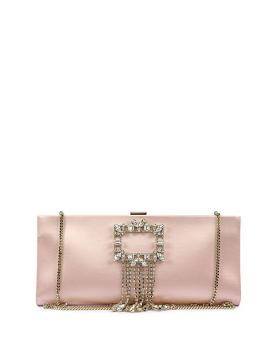 Trianon Buckle Pendent Clutch Bag