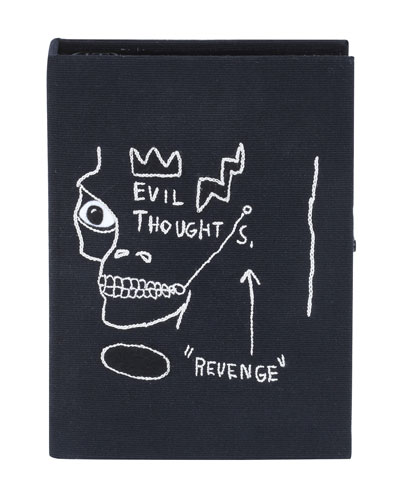 Basquiat® Revenge Black Frame Edition Book Clutch Bag