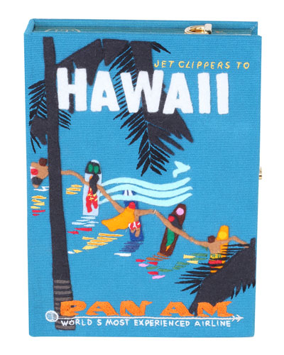 Hawaiian Surfers Box Crossbody Bag