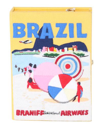 Brazil Box Crossbody Bag