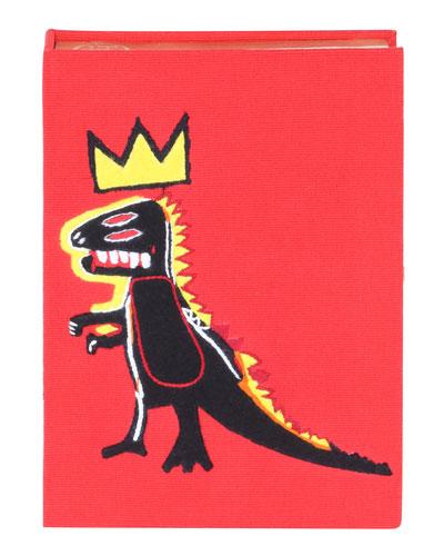 Basquiat® Dinosaur Book Clutch Bag