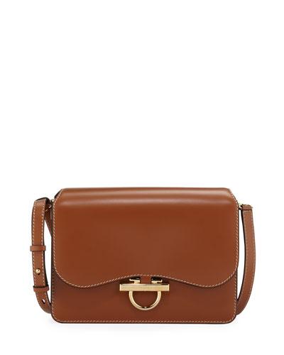 Joanne Medium Leather Crossbody Bag