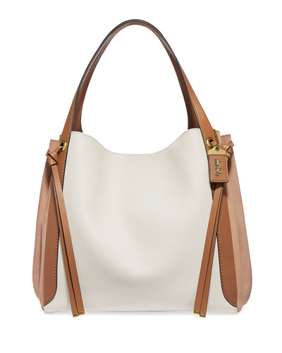 Harmony 33 Colorblock Hobo Bag