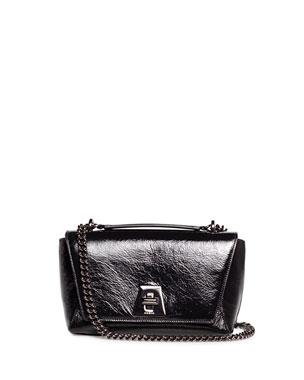 Akris Anouk Day Small Crinkle Patent Shoulder Bag 0f70c4c8d3
