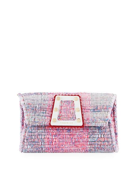 KOORELOO 3D Woven Clutch Bag in Multi