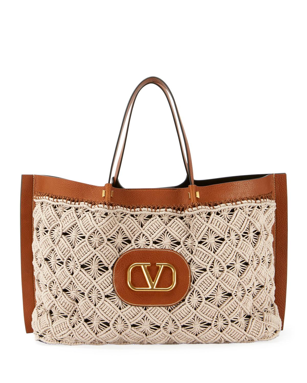 d198d7bf6316 Valentino Garavani Go Logo Escape Large Tote Bag