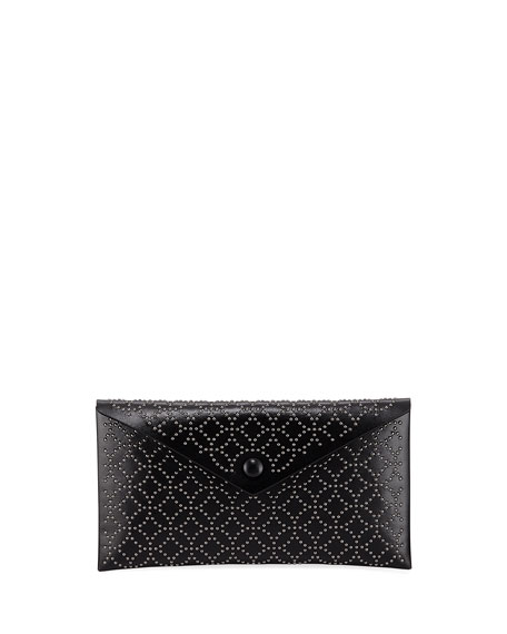 Alaïa Clutch LOUISE EMBELLISHED CLUTCH BAG