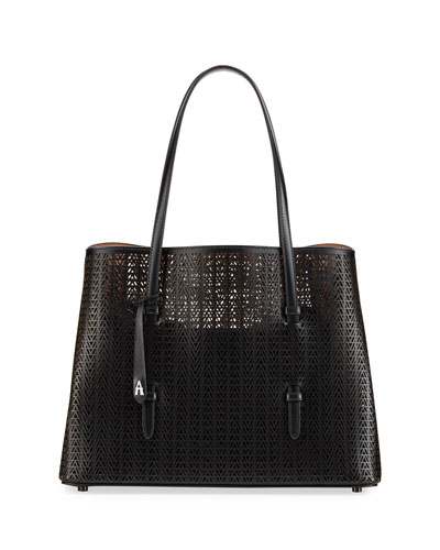 Mina Medium Laser-Cut Tote Bag