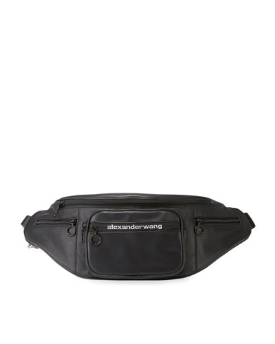 Attica Soft Matte Leather Fanny Pack Bag