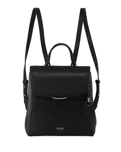 grace medium leather backpack