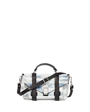 d284afecae Proenza Schouler PS1 Tiny Denim Satchel Bag
