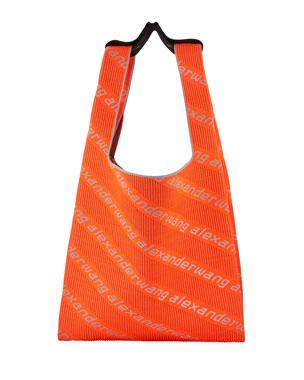 b081dbece64e Alexander Wang Knit Jacquard Shopper Tote Bag