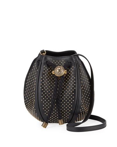 Mini B Studded Bucket Bag