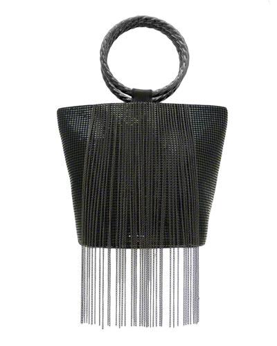 Bracelet Fringe Bucket Clutch Bag
