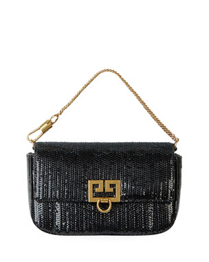 Givenchy Pocket Mini Pouch Laser-Cut Convertible Clutch Belt Bag 89ea9443d2