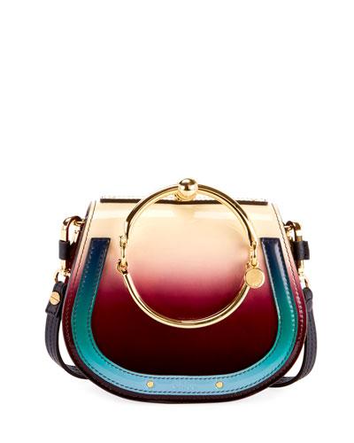 Nile Small Color Shading Satchel Bag