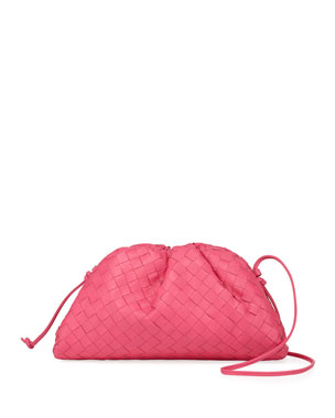 9f058a40c0c3 Bottega Veneta Lauren Portatutto Intrecciato Soft Clutch Bag