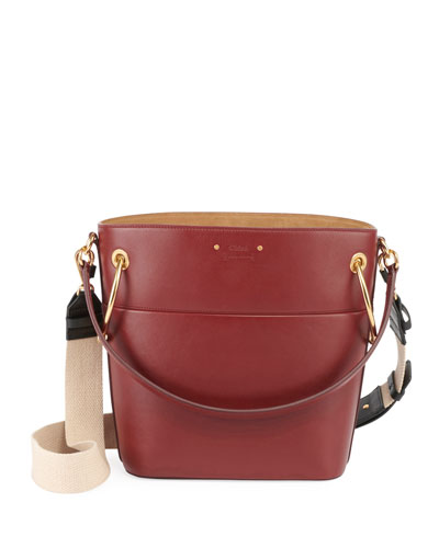70d0b08a56bc3 Chloe Roy Small Smooth Calf Leather Bucket Bag from Neiman Marcus ...