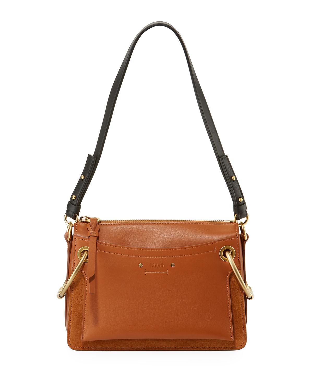 2bad13eea45a Chloe Roy Leather Suede Shoulder Bag