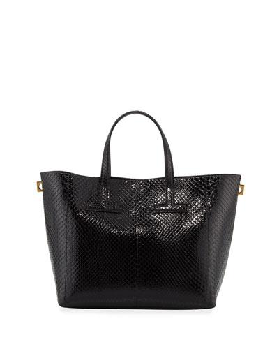 Mini T Python Tote Bag