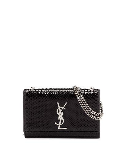 Kate Small Monogram YSL Python Crossbody Bag