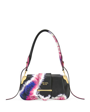 a71334413824 Prada Tie-Dye Prada Sidonie Shoulder Bag