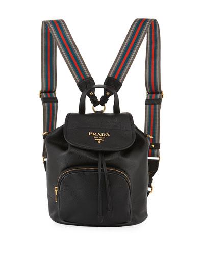 Daino Leather Backpack