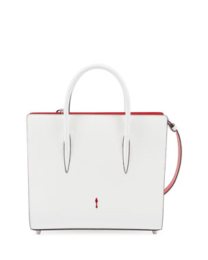 b831663ce538 Christian Louboutin Paloma Medium Spike Leather Tote Bag