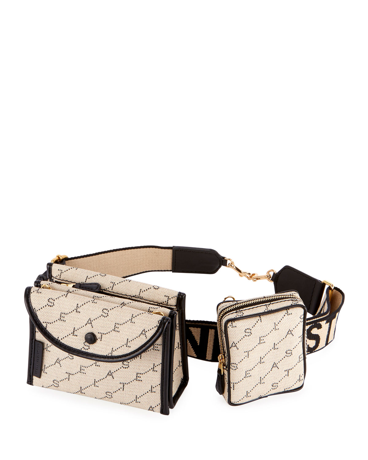 Stella McCartney Monogram Utility Belt Bag with Detachable Pouches ... f5b2df2406833