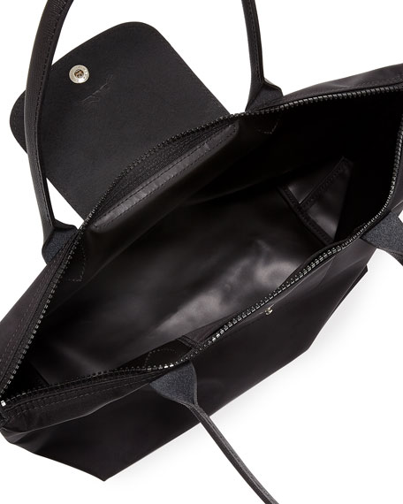 Image 2 of 4: Le Pliage Neo Small Nylon Shoulder Tote Bag