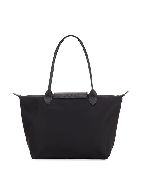 Image 3 of 4: Le Pliage Neo Small Nylon Shoulder Tote Bag