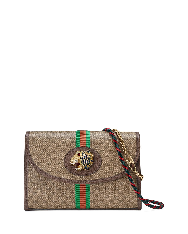 a0f9a382231f Gucci Rajah Linea Small GG Supreme Shoulder Bag