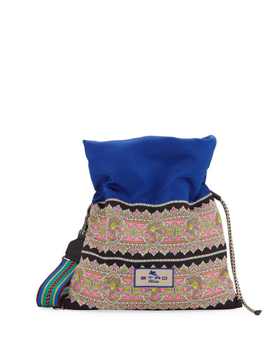 Borsa a Tracolla Small Paisley Tote Bag