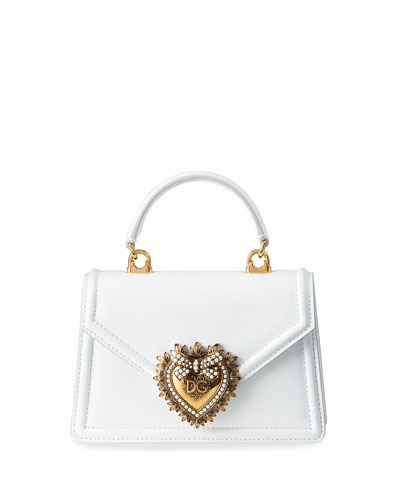 Devotion Mini Leather Top-Handle Bag